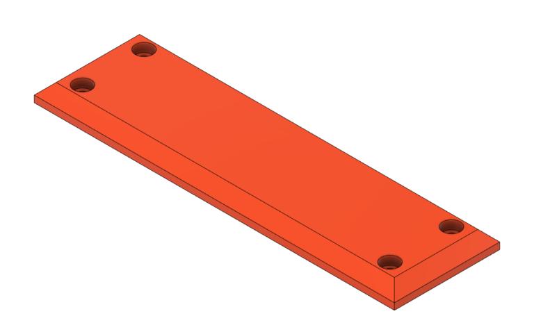 011308-01 Low Profile Hoist Cable Wear Block